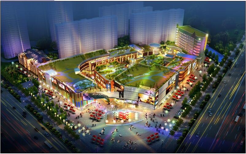 龙湖地产---映客商业广场