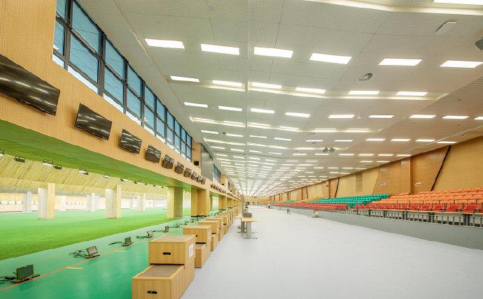 对中辰装饰有限公司完成的第七届军人运动会射击馆项目室内外精装修工程的工程量及工程 ...