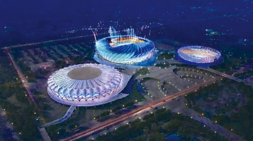 湖北省奥林匹克体育中心---光谷国际网球中心